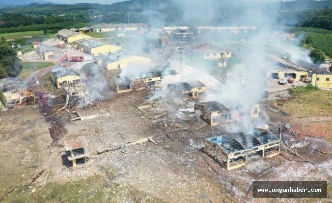 Hendek'teki Patlamaya İlişkin Yeni Gelişme
