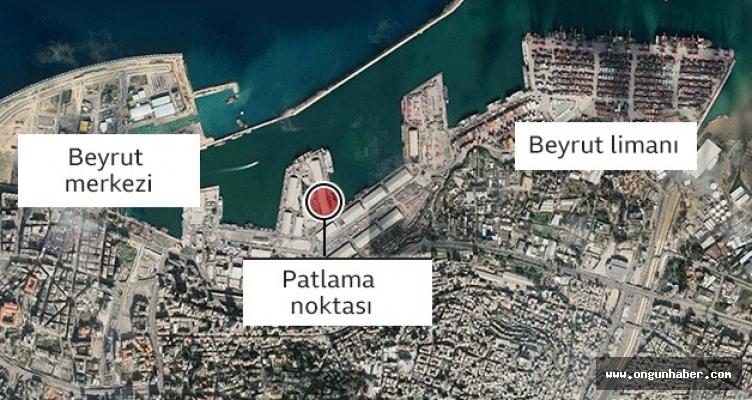 Beyrut'taki Patlamadan Yeni Görüntüler