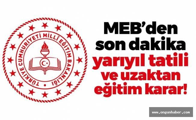 M.E.B' dan Üstüste Açıklamalar!