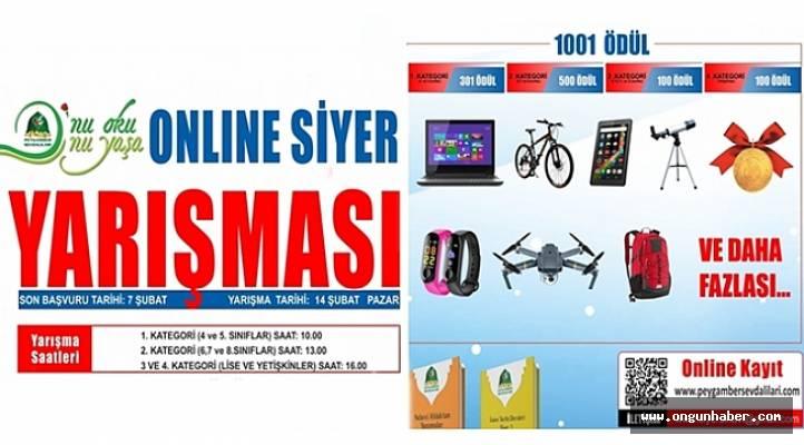 Siyer Yarışması Online Yapılacak