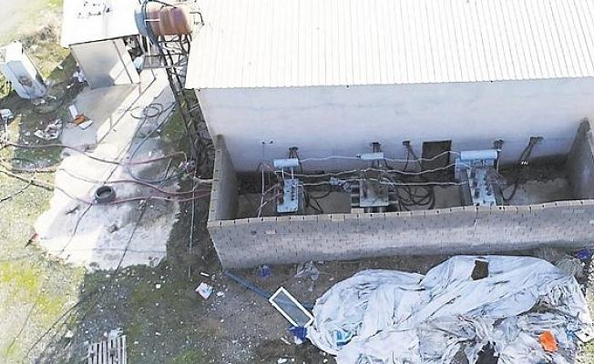 Elektrik Hırsızlığında Yeni Çığır;  Kaçak Trafo