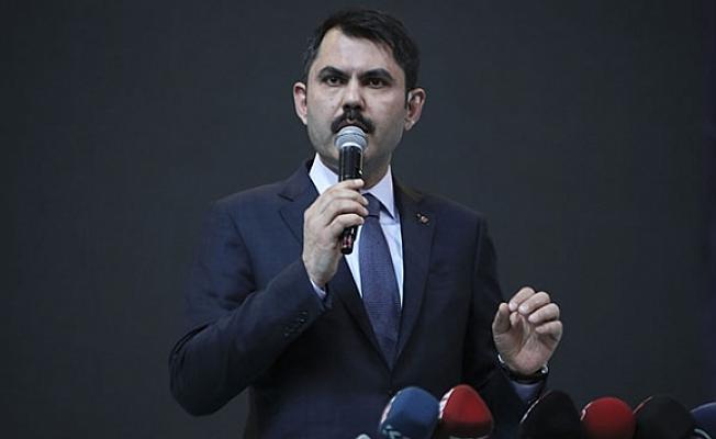 Bakan Murat Kurum İddialı Konuştu