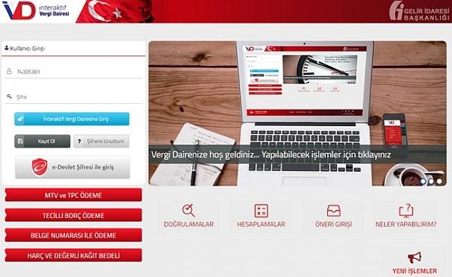 İnteraktif Vergi Dairesi'nde 5 Yeni Hizmet