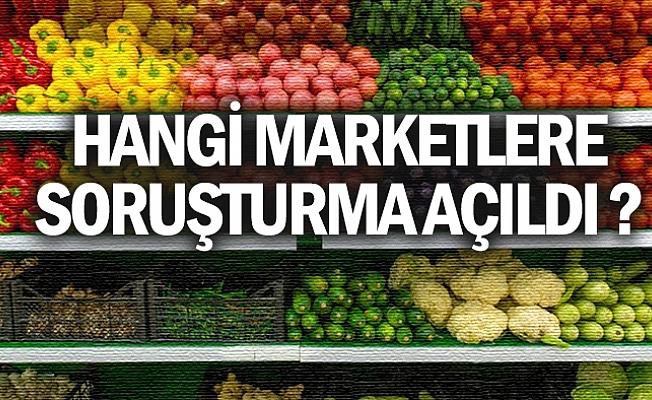 23 Zincir Market Hakkında Soruşturma Açıldı