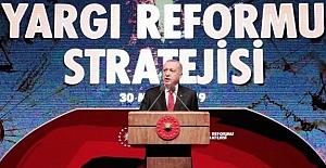Başkan ERDOĞAN, Yargı Reformu Paketi'ni Açıkladı