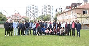 Karaman Belediyespor Basınla Bir Araya...