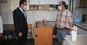 Başkan KALAYCI Kahvehaneleri Denetledi