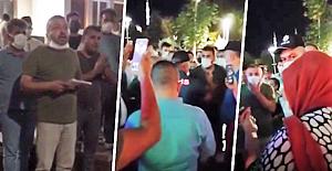 Konya'da Esnaf Gece Yarısı Meydana İndi